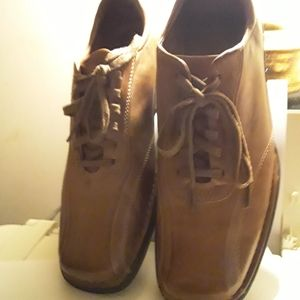 Men Rockport  Brown Leather lace up Shoes